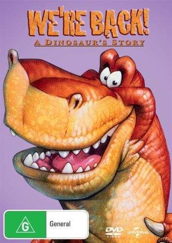 1 of 1 - We're Back! A Dinosaur's Story   DVD R4