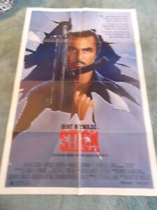 STICK-1985-BURT-REYNOLDS-ORIGINAL-ONE-SHEET-MOVIE-POSTER