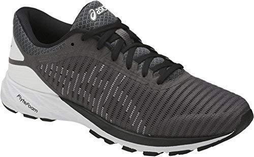 ASICS hommes DynaFlyte 2 Running Chaussures , Carbon/blanc/ noir , 9 D US