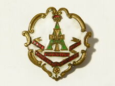 THE GREEN HOWARDS PROUD B2 ROYALE ENAMEL ROYALE CAR GRILL BADGE 3456