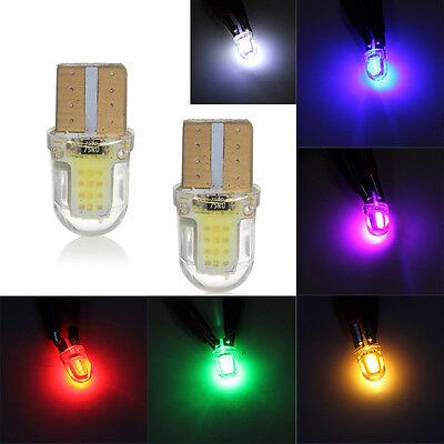 10Pcs T10 168 194 W5W 5050 SMD 9 LED Bulb Width Lamp//License Plate Light White