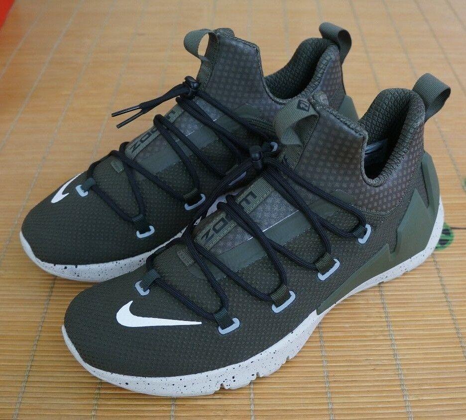Nike air zoom elementare scarpe scarpe elementare da da da uomo carico cachi   nero   bba002
