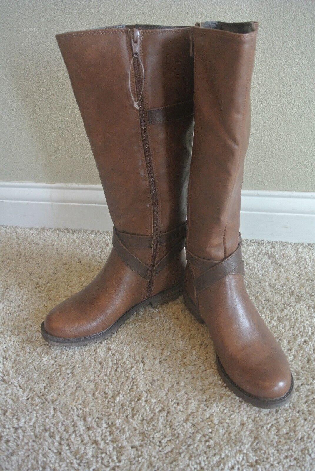 Natualizer Naturalizer Soul Bridget Brown Knee Boots shoes Size 5 @ cLOSeT
