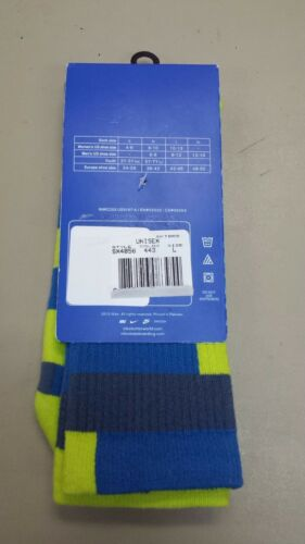 XL 12-15 New Nike Elite-Cushioned Basketball Crew Socks Size L 8-12
