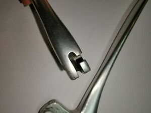 BMW R50 Original used parts. Clutch and brake lever smooth, forged alu