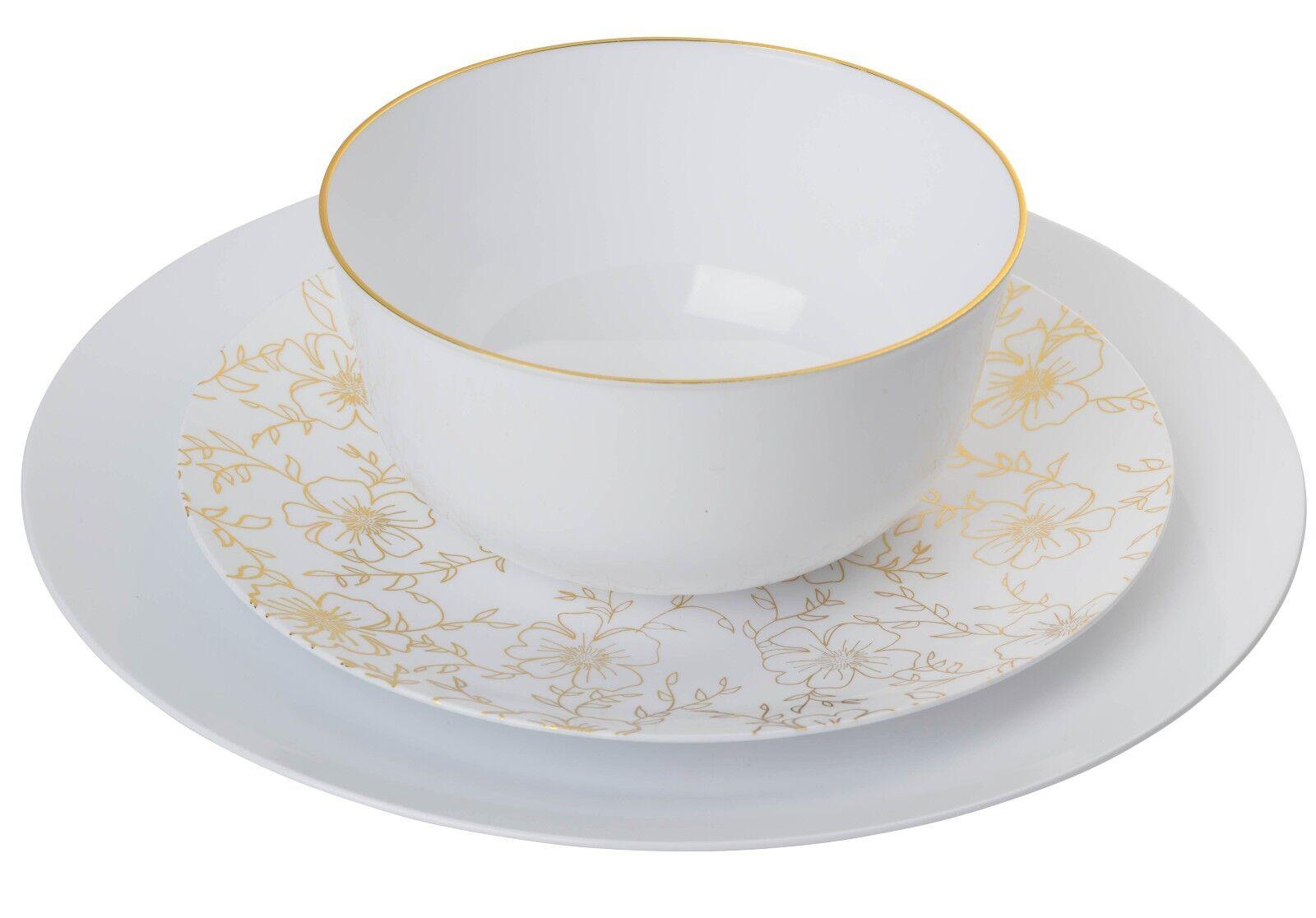 TRENDABLES Versa Premium Wedding Party Disposable Plastic Dinnerware-FREE SHIP