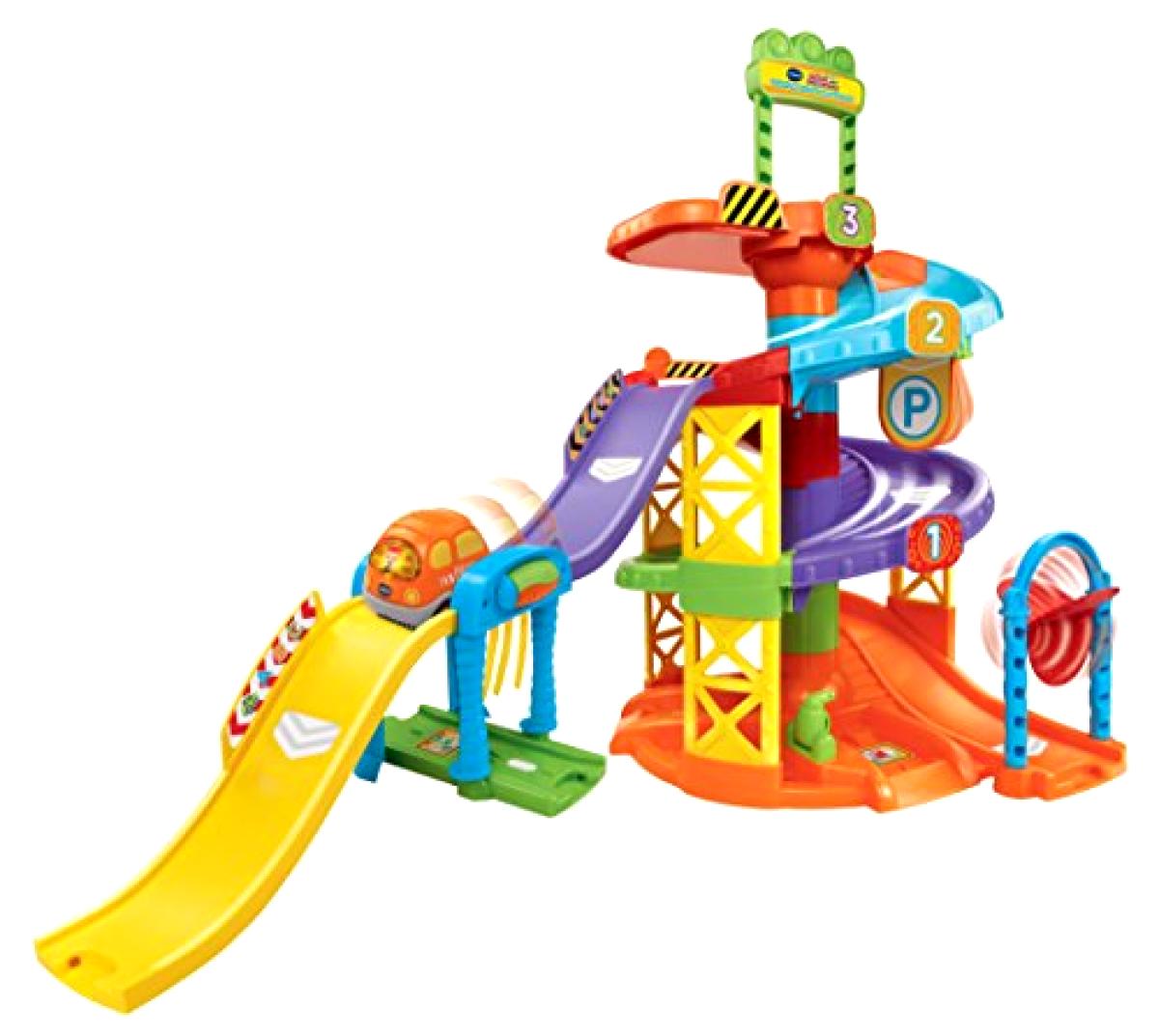 VTech Go    Go  Smart Wheels Spinning Spiral Tower Playset Preschool Pretend Play 48cefb