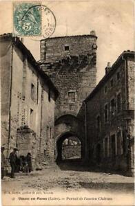CPA-Usson-en-Forez-Portail-de-l-039-ancien-Chateau-663912