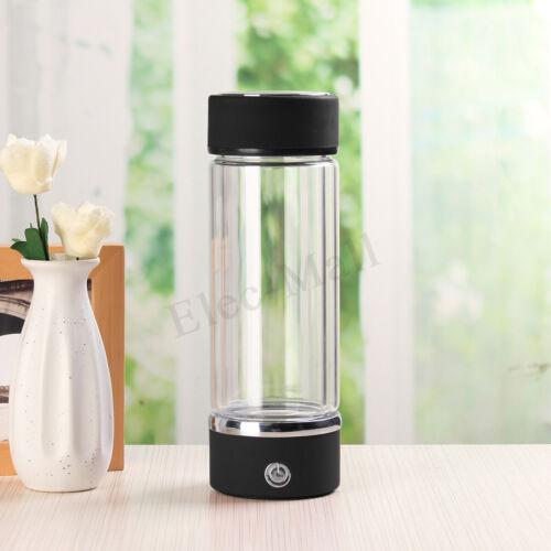 Box 1000-1500PPB Portable Hydrogen Rich Water Maker Generator Bottle Glass Cup