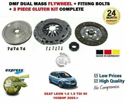 FLYWHEEL AND LUK CLUTCH KIT BOLTS FOR SEAT LEON HATCHBACK 1.9 TDI