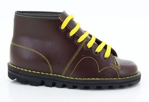 GRAFTERS UNISEX ORIGINALE SCIMMIA rétro SCIMMIA ORIGINALE Stivali di pelle VINO CLASSICO 1960 b23e8d