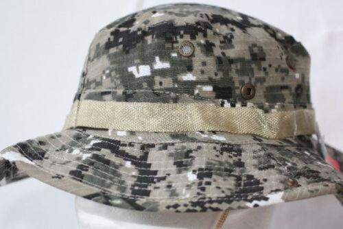 58-59cm Trendige Safari Hut camouflage  Gr