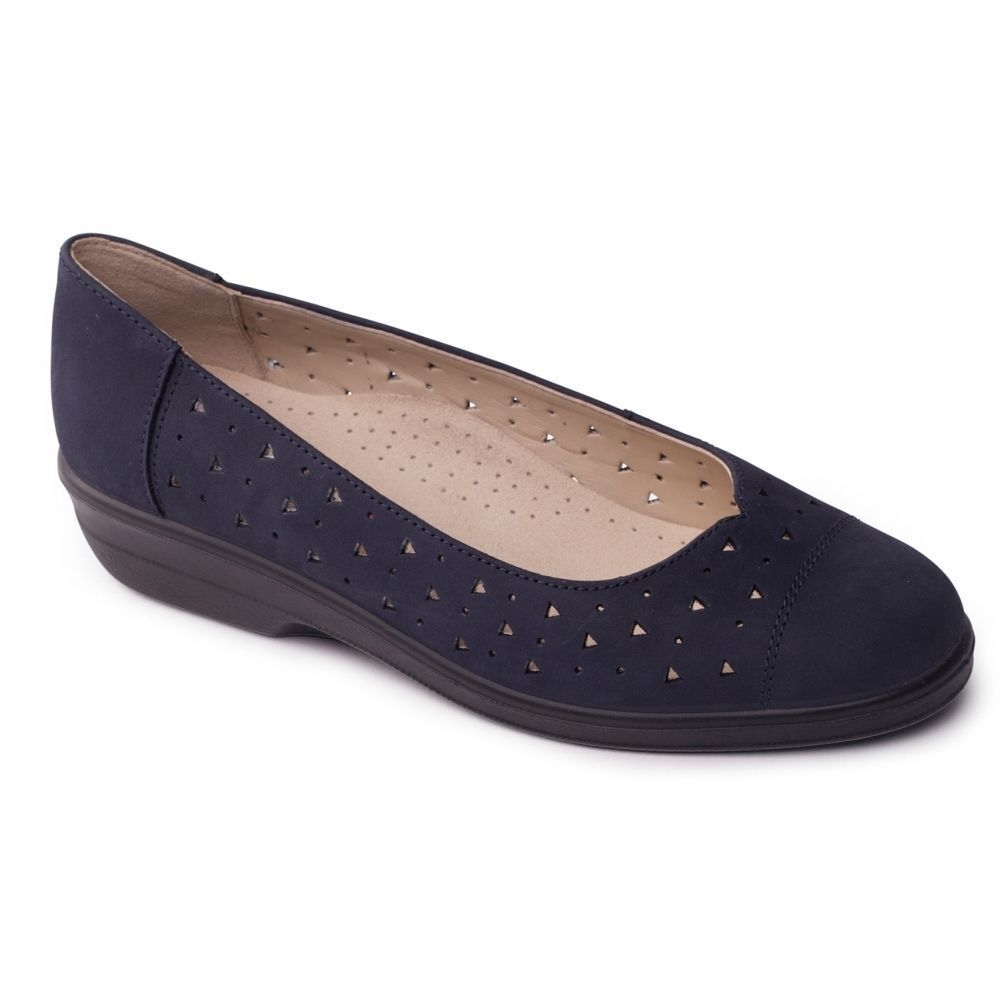 Padders Faye Donna Donna Donna Extra Wide MORBIDA PELLE INFILARE Comfort Estivo Pompe f2d485