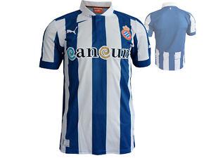 Puma-Espanyol-Barcelona-Heim-Trikot-blau-Espanol-Home-Shirt-Fan-Jersey-Gr-S