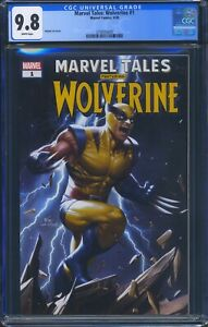 Marvel-Tales-Wolverine-1-Marvel-CGC-9-8-White-Pages-Inhyuk-Lee-Cover