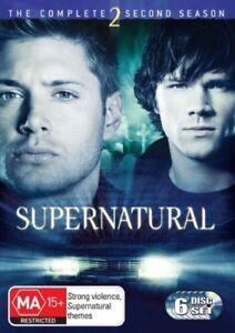 Supernatural-Season-2-DVD-2007-6-Disc-Set-Jared-Padalecki-Jensen-Ackles