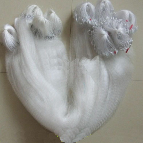 80M x 2M Clear Fishing Fish Trap Monofilament Gill Net Nylon Silk Nets 3 layers
