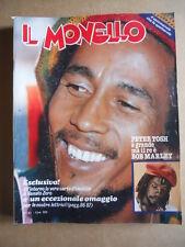 IL MONELLO n°33 1980 Bob Marley - Inserto Carta d'identità RENATO ZERO [G432]