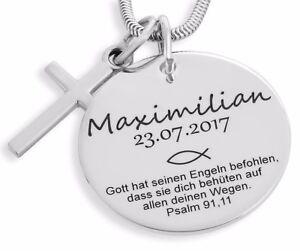 Kette Silber Zur Taufe Geschenk Fur Das Patenkind Schmuck Mit