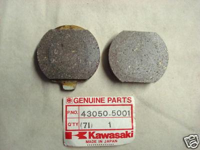 Kawasaki NOS NEW 43050-5001 Front Brake Pad Set H1 S3 KH KZ KZ1000 1969-79