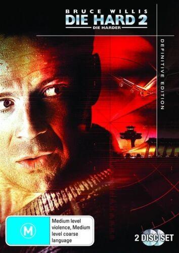 1 of 1 - Die Hard 2 - Die Harder (DVD, 2009, 2-Disc Set) Bruce Willis