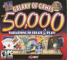 GALAXY OF GAMES 50,000 - eGames PC Game Collection Puzzles, Arcade, Casino, etc