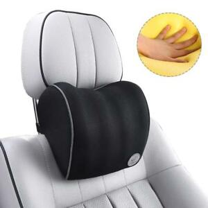 Excellent Details About Conthou Memory Foam Car Neck Pillow Ergonomic Neck Support With Adjustable Creativecarmelina Interior Chair Design Creativecarmelinacom