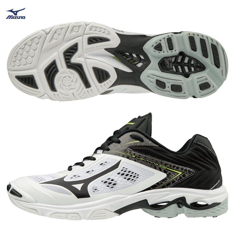 Mizuno Wave Lightning Z5 bianca nero Uomo donna donna donna Volleyball scarpe V1GA190009 c942fc