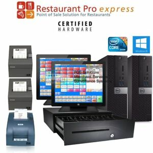 Pcamerica cre all-in-one retail liquor store pos system hp 3gb ram.