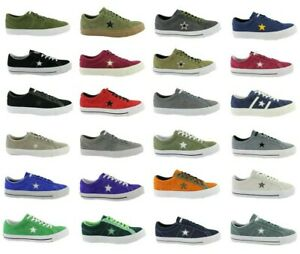 Converse-All-Star-Chuck-One-Star-Ox-Pro-Daim-Baskets-Chaussures-Taille-au-choix