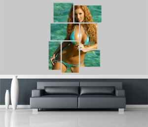 Sexy-Actress-Amanda-Olsen-Removable-Self-Adhesive-Wall-Picture-Poster-FP-963