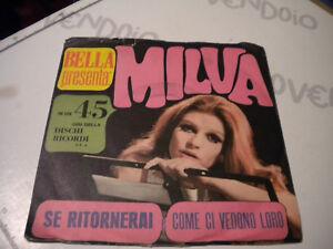 LP-45-7-039-039-MILVA-Se-tornerai-Come-ci-vedono-loro-italy-CETRA-fuori-commercio