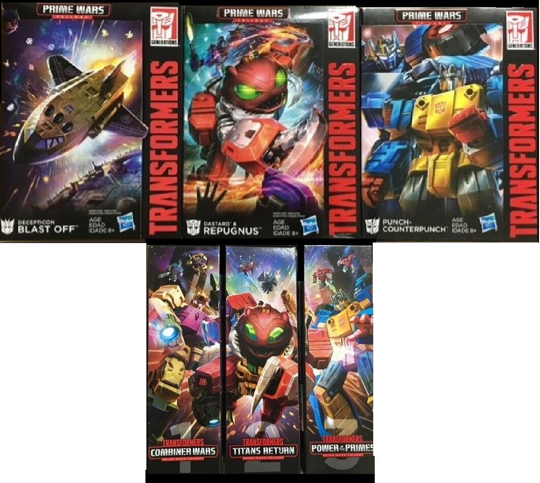 Transformers Titans Return Trilogy Prime Wars Blast Off Repugnus Counterpunch US