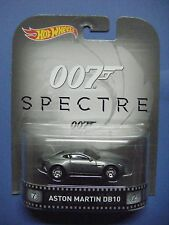 HOT WHEELS RETRO ENT. 007 SPECTRE ASTON MARTIN DB10