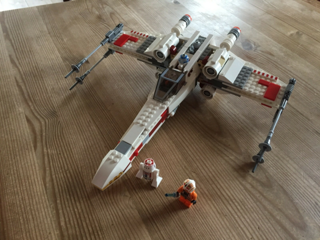 Lego Star Wars, 9493 : X-wing Starfighter, 9493 : X-wing…