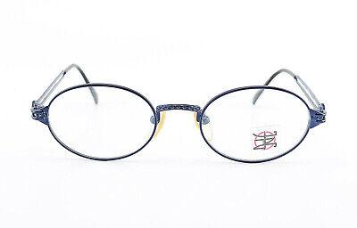 Onestà Jpg By Gaultier Occhiali 57-6103 Vintage Metal Eye Frame Ovale Blue 1990s Japan Nos-mostra Il Titolo Originale