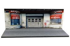 Diorama Garage contrôle technique - 1/43ème - #43-2-D-D-018