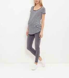 636ce21be060b Image is loading NEW-LOOK-Skinny-Over-Bump-Maternity-Jeggings-UK-