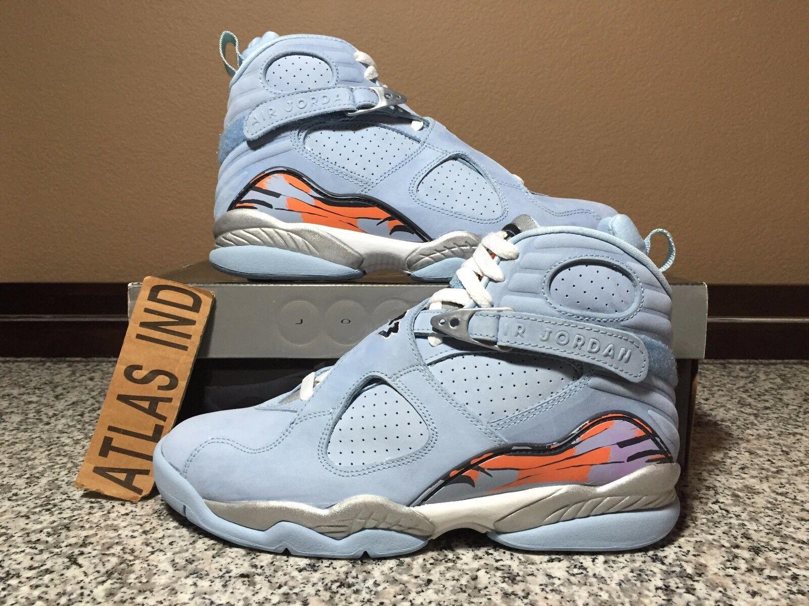 hot sale online 019ef 8a335 ... blanco Hombres tamaño 100 el mas popular de zapatos para hombres y  mujeres,. Air Jordan 8 retro Ice Azul Nike Nike Nike VIII 1 3 4 5 11 12