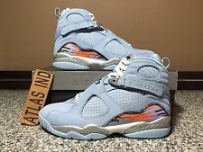 Air Jordan 8 Retro Ice Blue Nike VIII 1 3 4 11 12 13 DB Doernbecher ... e98cf0977