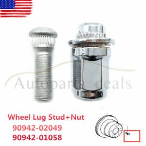 Lug Nut For 2001-2007 Toyota Sequoia; Wheel Lug Nut Nuts Wheels Lugs Fastener F