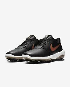 Nike-Womens-Roshe-G-Tour-Golfschuhe-UK-4-5-us-7-eur-38-schwarz-ar5582-001