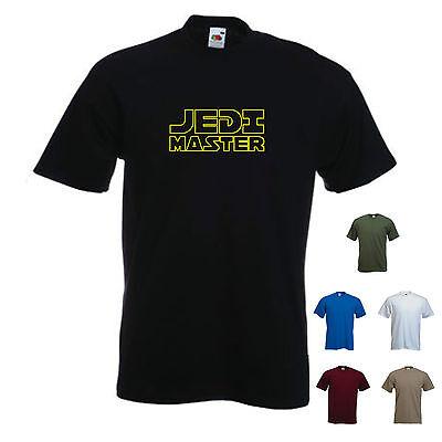 """""""maestro Jedi"""". Film Di Star Wars-divertente T-shirt Uomo-mostra Il Titolo Originale Morbido E Leggero"""