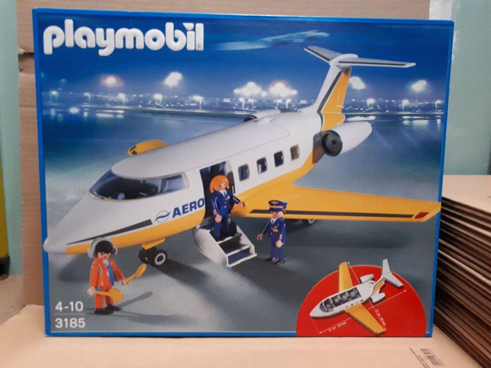 Playmobil 3185 Avion et Equipage NEUF et SCELLE