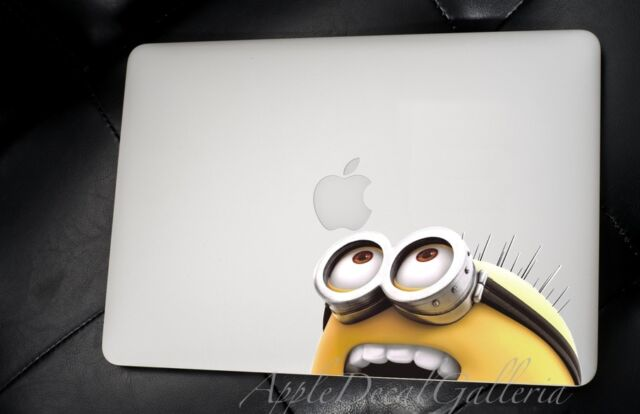 Despicable Me Minion Decal Sticker Skin Decals for Macbook Pro Air 13 15 17 DT