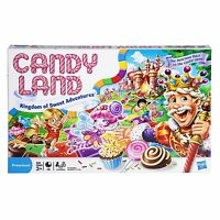 Candy Land - The Kingdom Of Sweets Board Game , New, Free Shipping