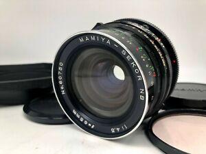 FedEx-RARO-NR-Nuovo-di-zecca-CON-CAPPUCCIO-Mamiya-Sekor-NB-65mm-f-4-5-per-RB67-RZ67-dal-Giappone