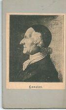 Altes CDV Bild - Johann Caspar Lavater