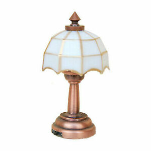 1 12 Scale Dollhouse Miniature Battery Operated Table Lamp Light Ld006e