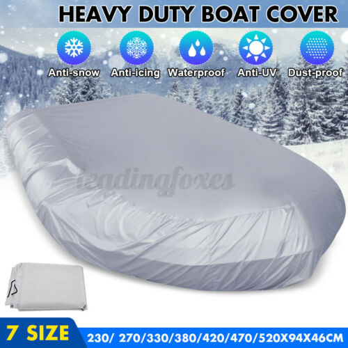 230//270//470cmX94X46cm Boat Dinghy Cover UV Protection Anti Scratch Dust Dirt